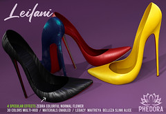 "Phedora. - ""Leilani"" Heels available at FaMESHed ♥"