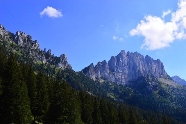 Kalkfelsen-Bergkette Gastlosen
