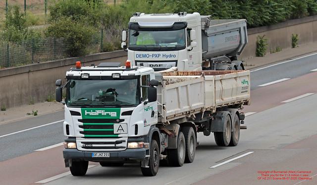 OF HZ 211 Scania 08-07-2020 (Germany)