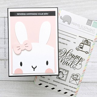 Sending Happiness your way by Amy Tsuruta for Inspired by Challenge