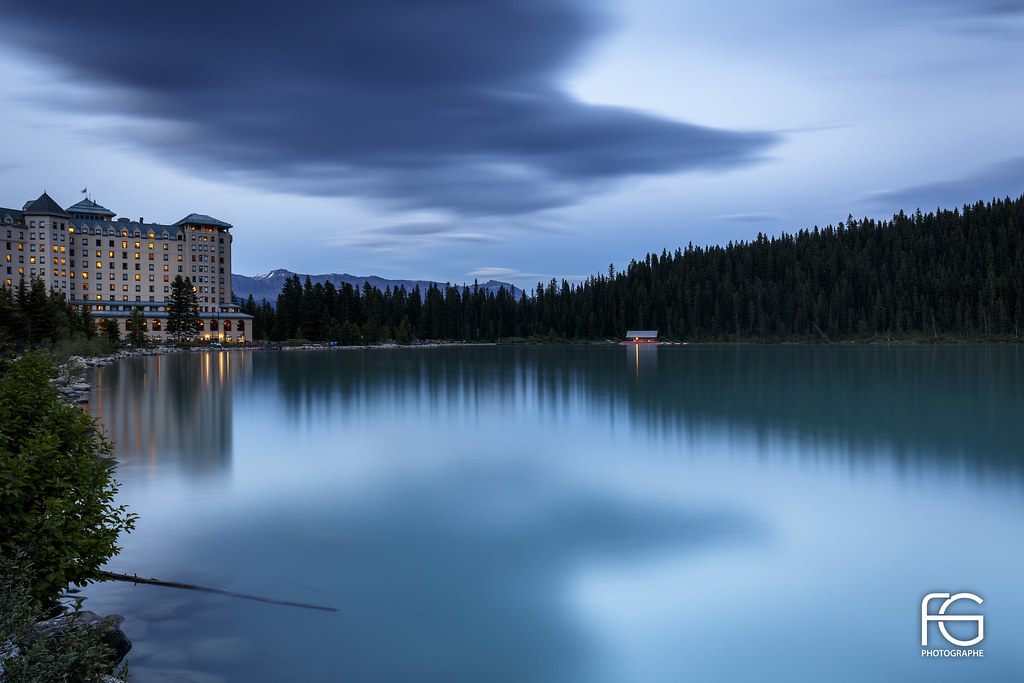 Fairmont Louise Lake #explore