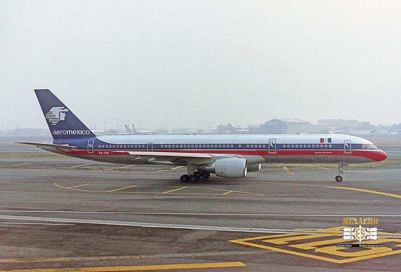 Aeromexico / Boeing 757-2Q8 / XA-SIK
