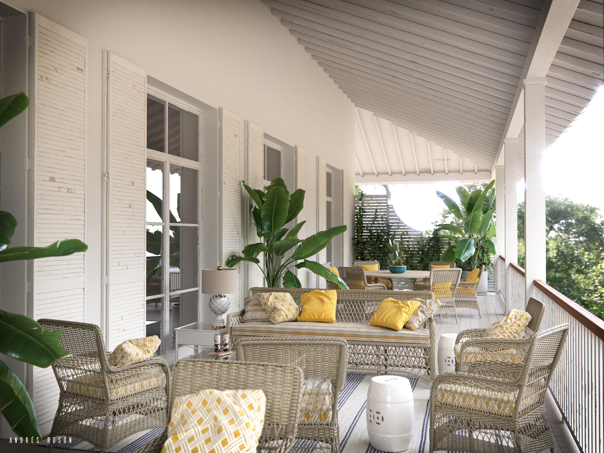 White Terrace CGI