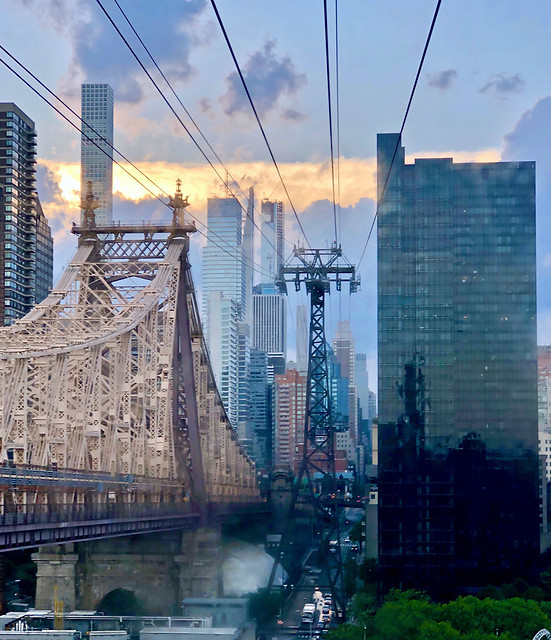 As seen from the Roosevelt Island Tram