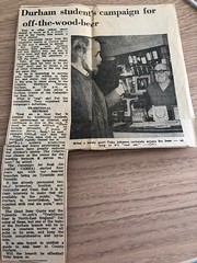 Launch of Durham CAMRA in about 1975