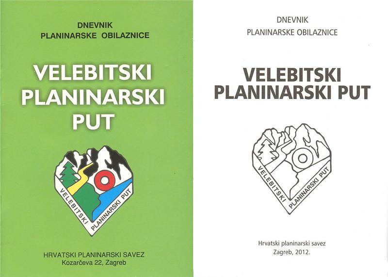 Velebit Hiking Trail Log Book, CROATIA, July 2020