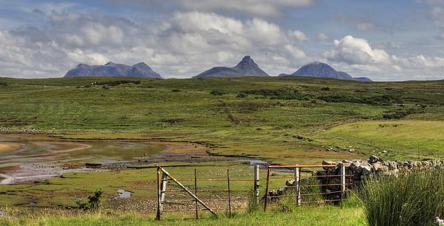 Viewed from near Achnahaird, Wester Ross, Scotland, UK