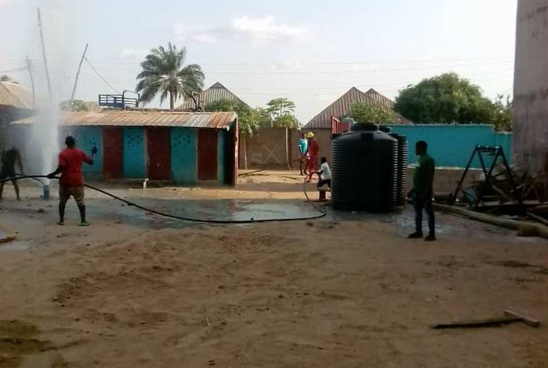 PASDO Borehole Drilling and Water Supply Project for Water, Sanitation and Hygiene (WASH) in North-Central Nigeria, Africa.