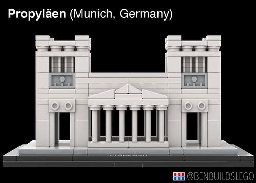 LEGO Munich's Propylaea