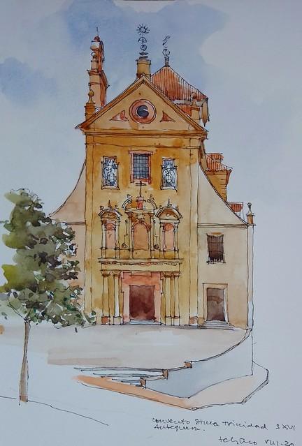 Iglesia de la Santísima Trinidad. Antequera.