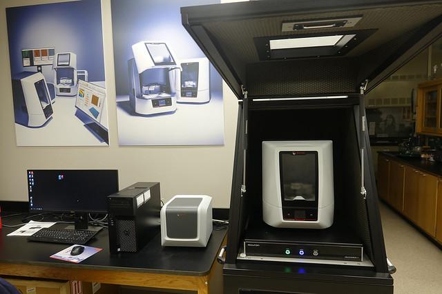 Anton Paar microscopy system