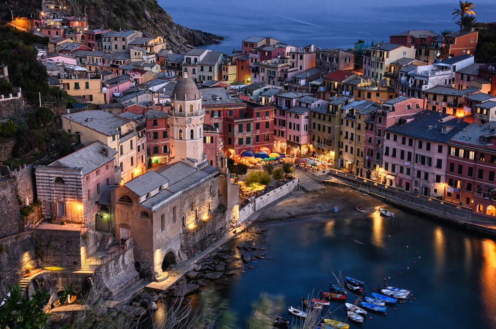 A Blue Vernazza