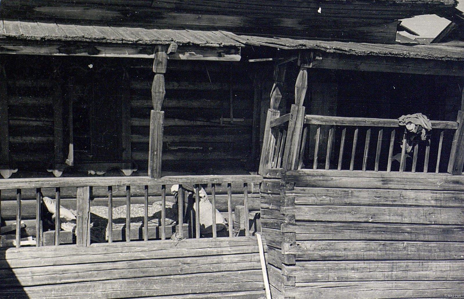 Терраса в доме В.И. Черемных