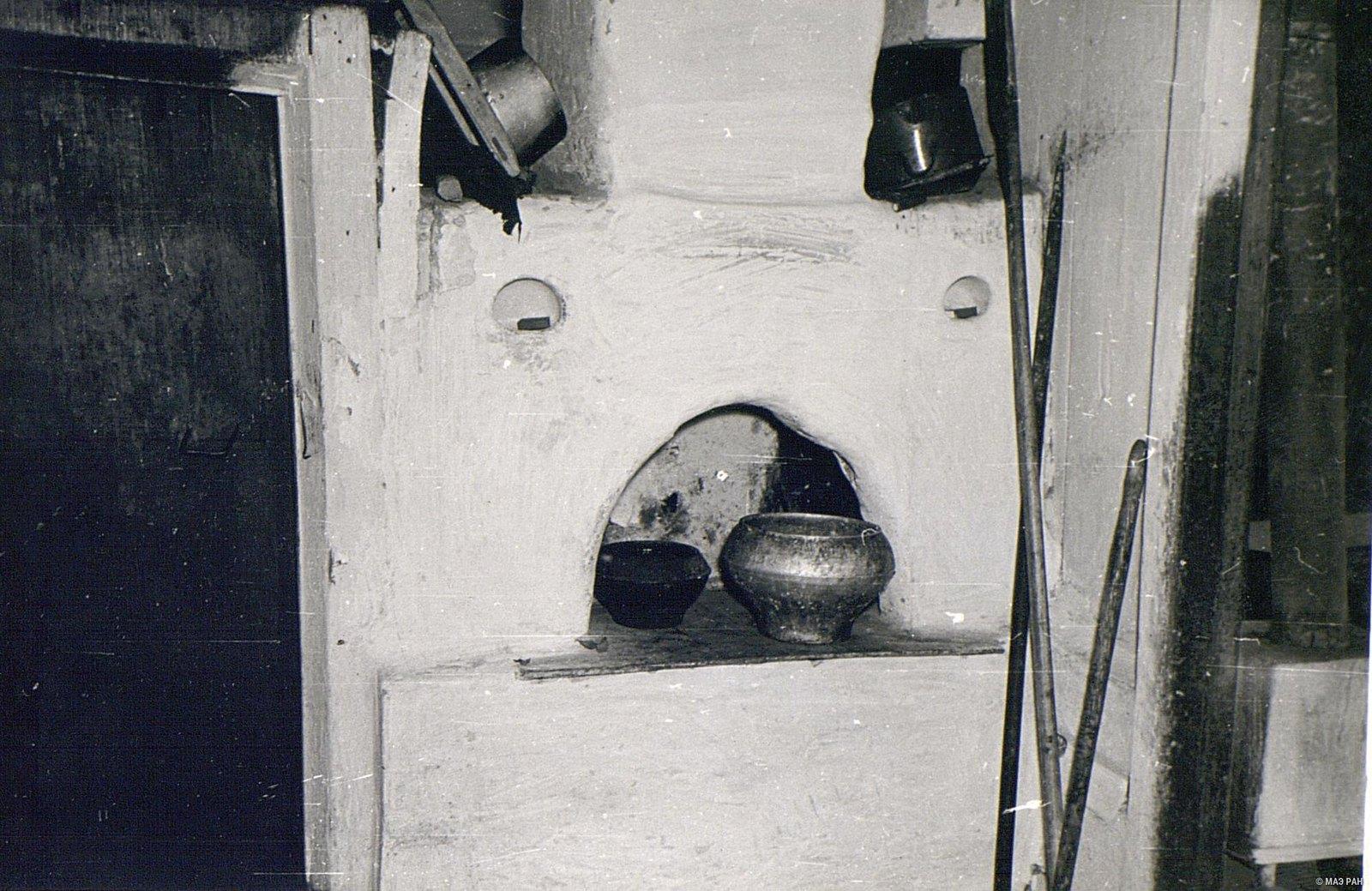 Печь в доме А.И. Чунина