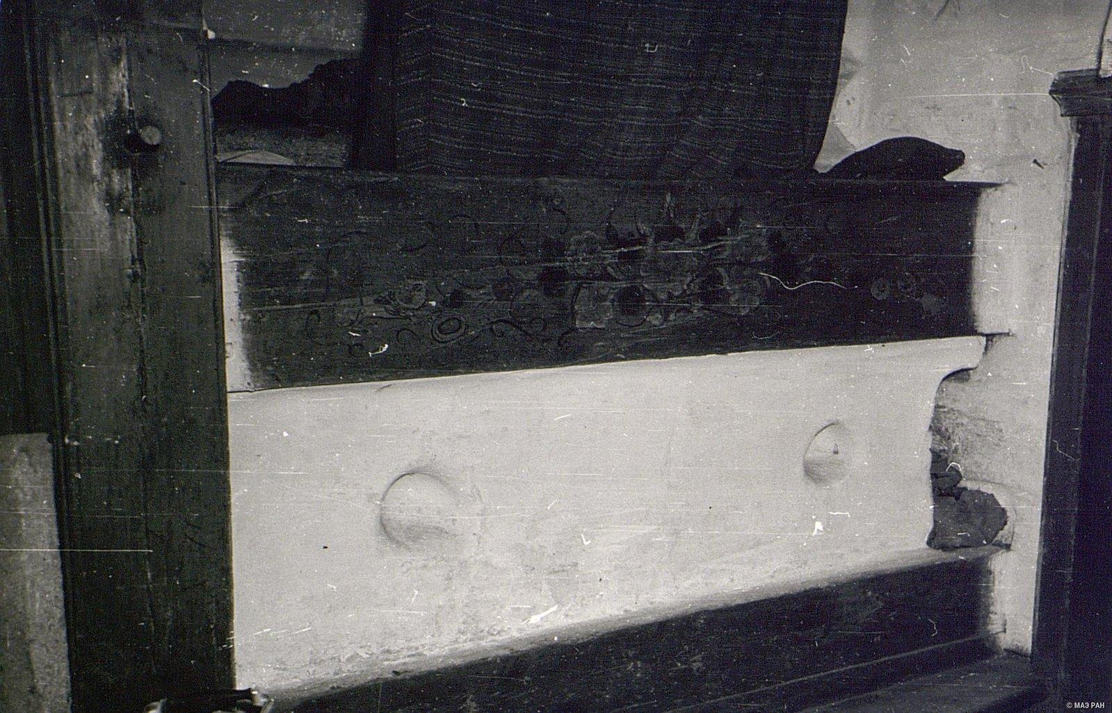 Печь в доме А.И. Чунина.