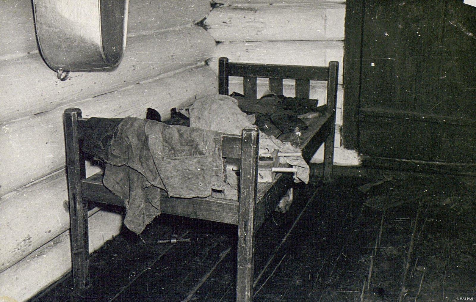 Кровать в доме Г.А. Черемных
