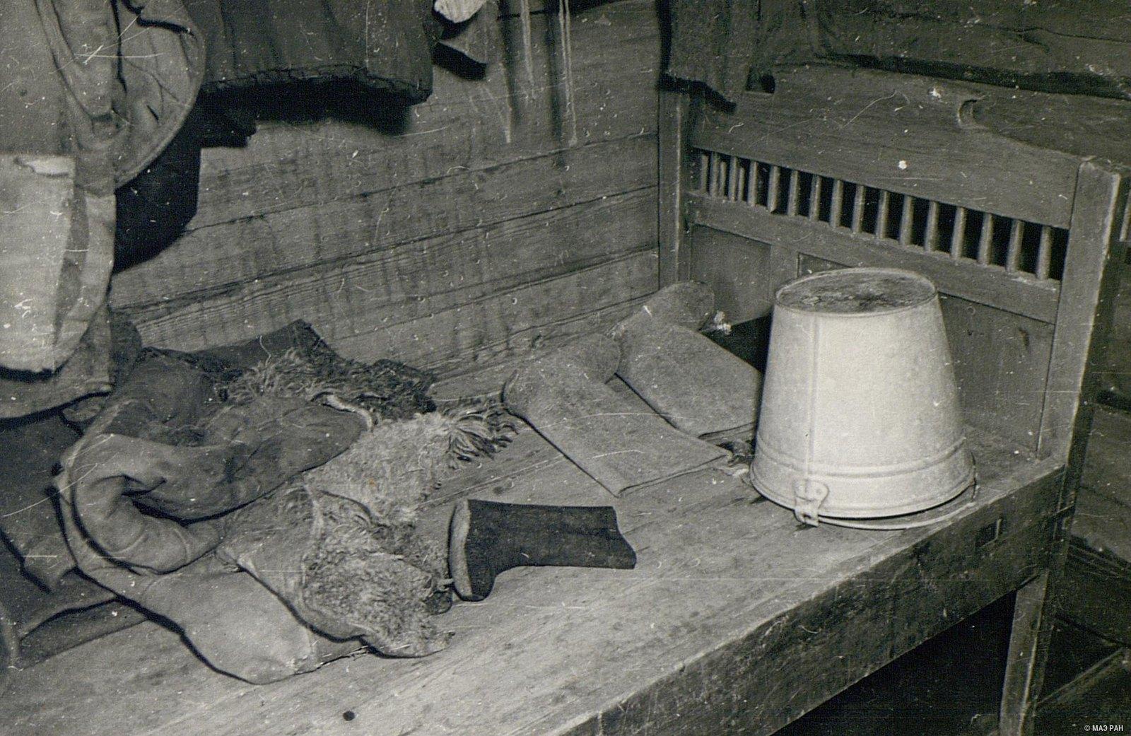 Кровать в доме Г.А. Черемных.