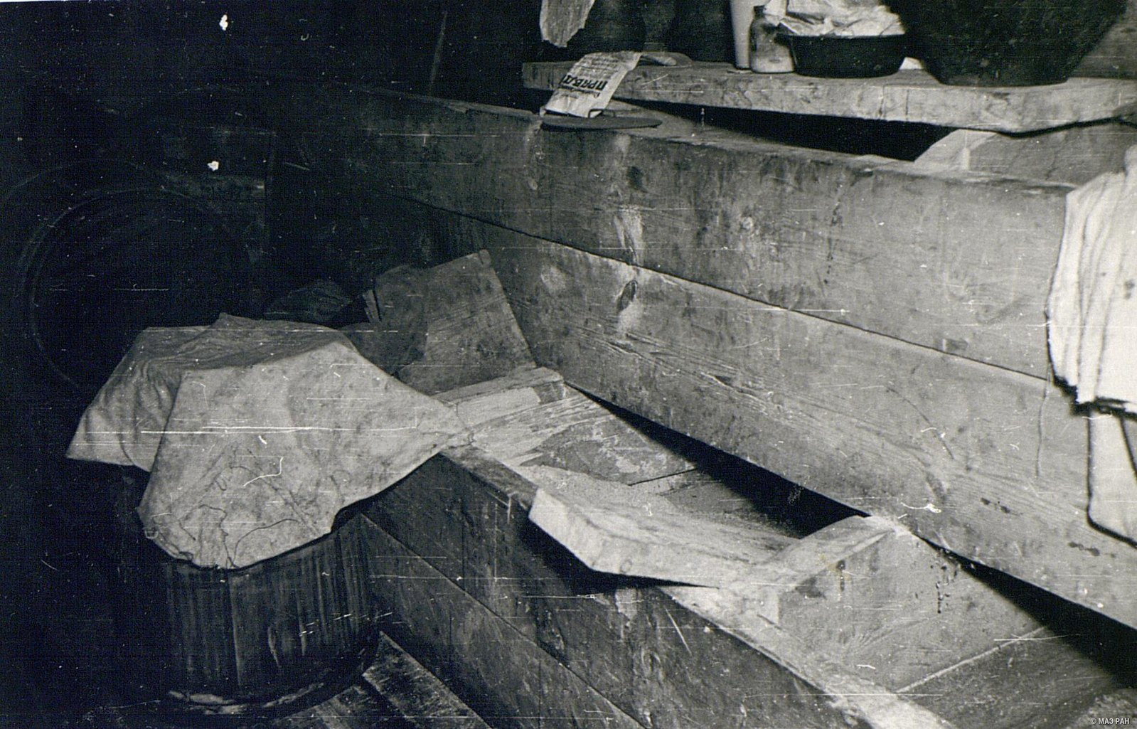 Внутренний вид амбара В.И.Черемных