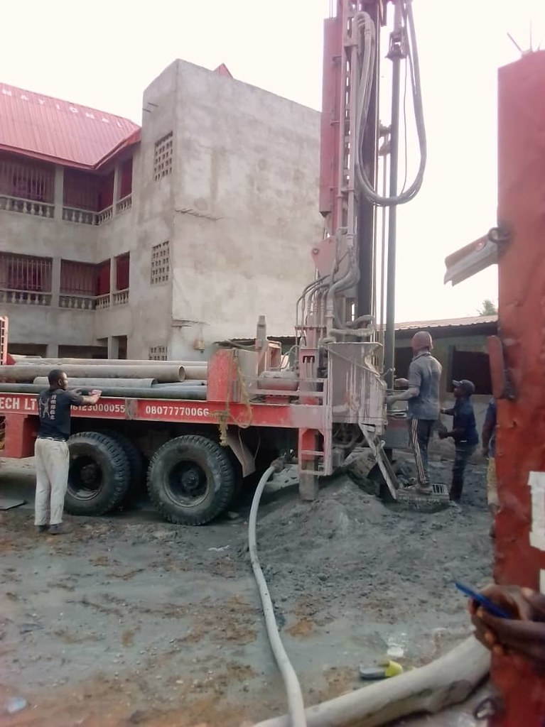 3 PASDO Borehole Drilling and Water Supply Project for Water, Sanitation and Hygiene (WASH) in North-Central Nigeria, Africa.