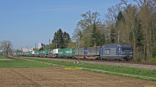 Re 465 011-5 Train de remorques à Herzogenbuchsee | by BB 26004 Cernay