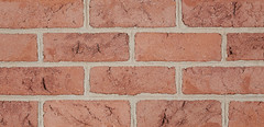 St Anne Clear Antique Colonial Texture pink Brick