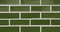 Olive Glaze Smooth Texture green Brick