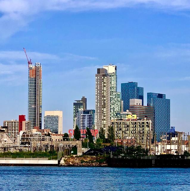 Long Island City -- as seen from Roosevelt Island