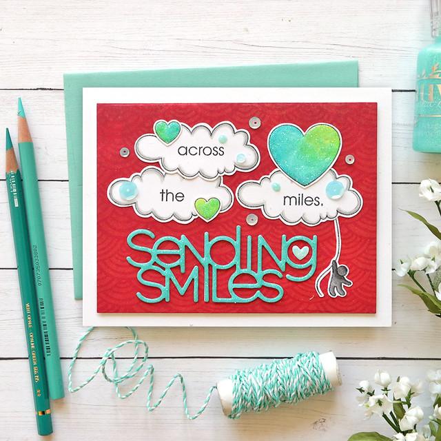 sending smiles across the miles