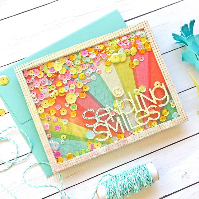 sending smiles shaker