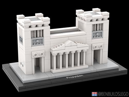 LEGO Munich's Propylaea [2]