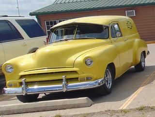 Chevrolet, 1951 Sedan Delivery