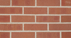 Simulated Belcrest 530 Sanded Velour Texture red Brick