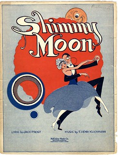 Sheet Music - Shimmy Moon - 1920