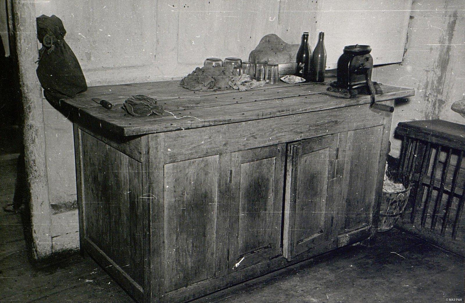 Кухонный стол в доме А.И. Чунина