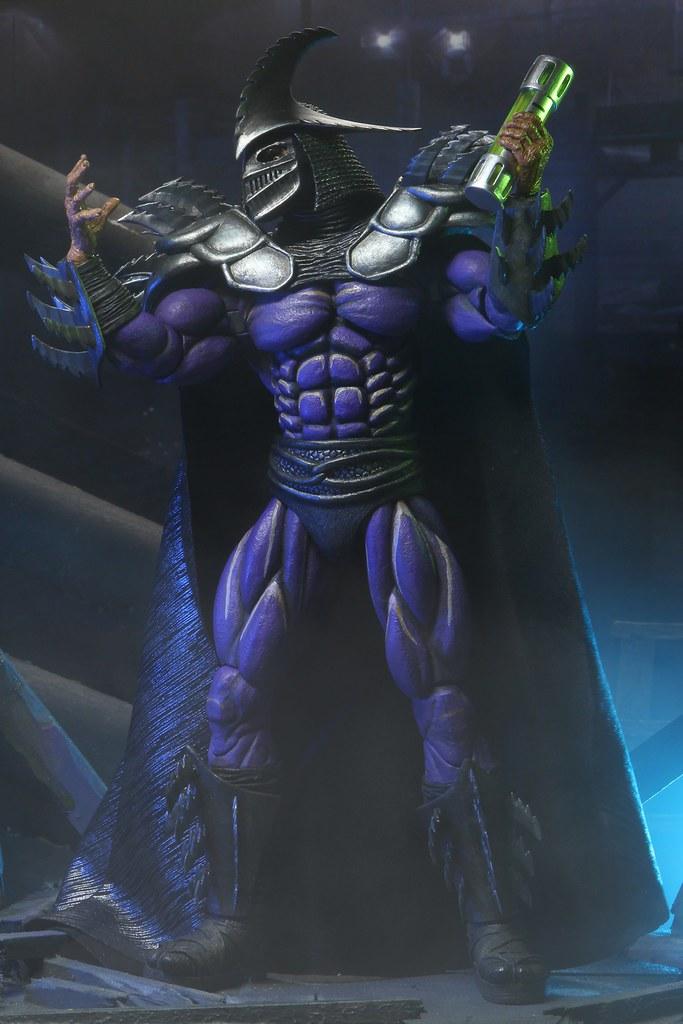 NECA《忍者龜II(1991)》超級許瑞德 7吋可動人偶霸氣現身!