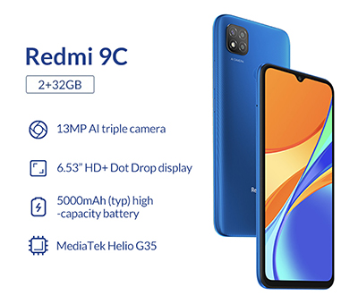 Xiaomi Redmi 9C to be launched for Singapore on Shopee on Sunday, 16 August.