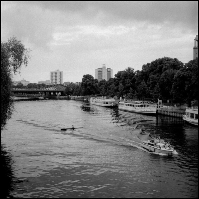 The Havel from Charlottenbrücke