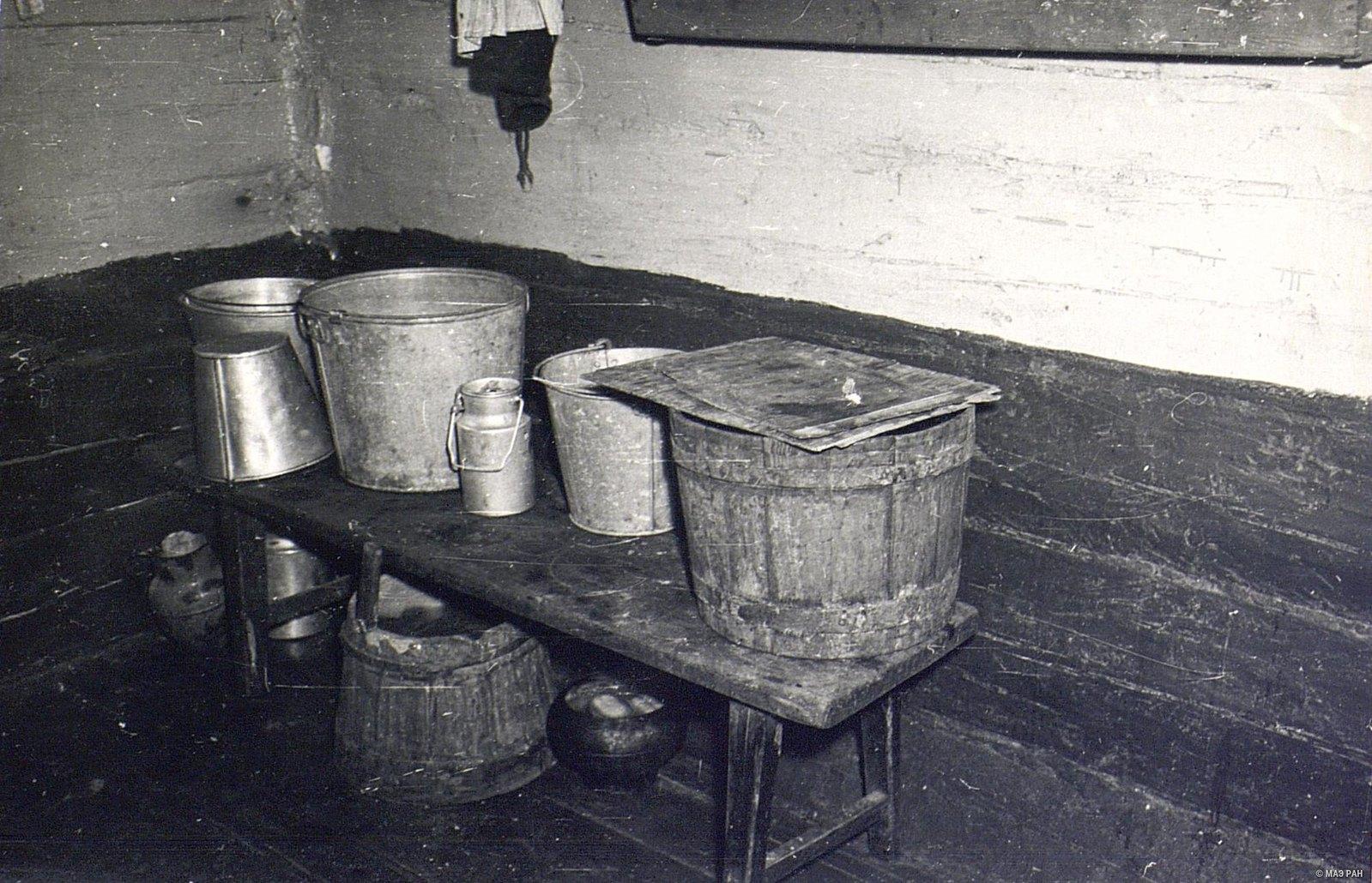 Угол кухни в доме Г.А. Черемных