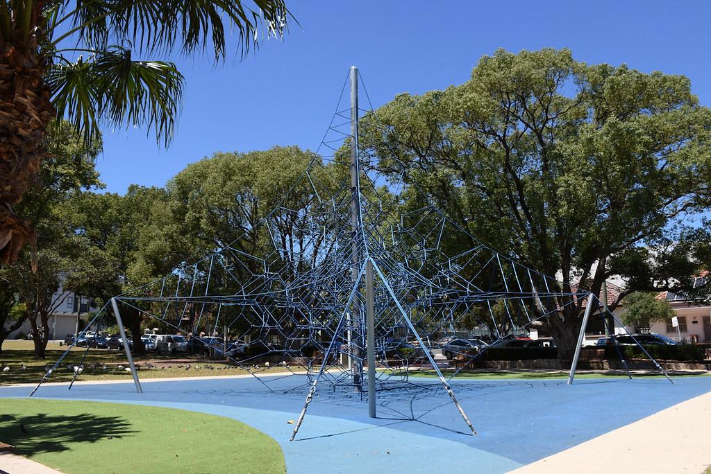 Climbing Frame, Anzac Square, Campsie, Sydney, NSW.