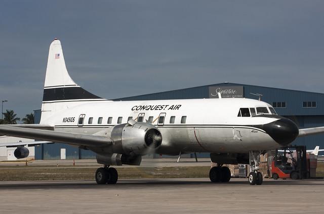N345GS Convair C-131F Conquest Air Cargo