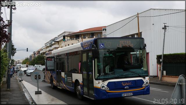 Heuliez Bus GX 327 – Tisséo Voyageurs / Tisséo n°0641