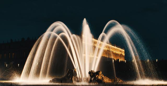 Magical night in Versailles