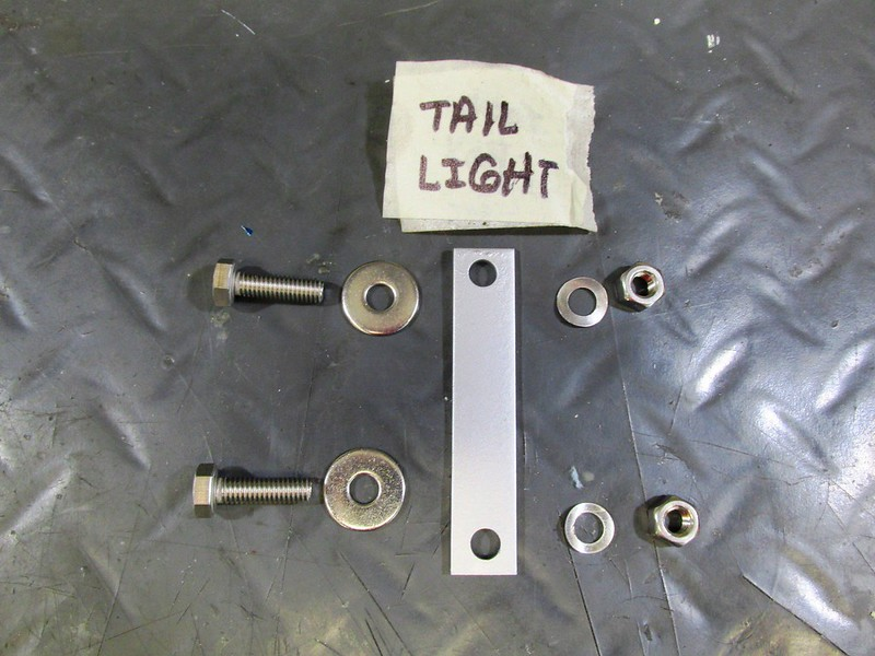 Tail Light Housing & Turn Signal Mounting Hardware