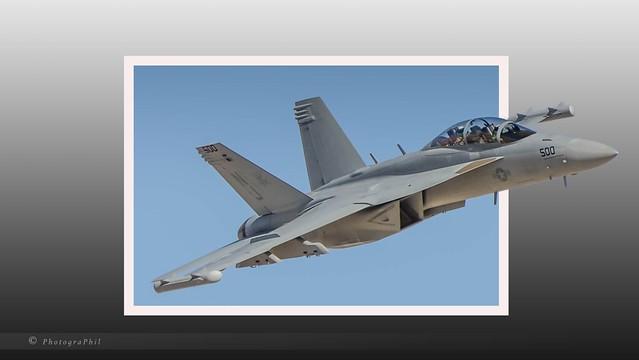 US NAVY BOEING EA-18G GROWLER