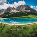 Unknown lake - Dolomites, Italy