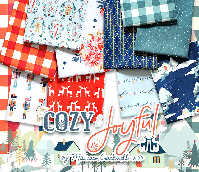 Art Gallery Fabrics Cozy & Joyful Collection by Maureen Cracknell