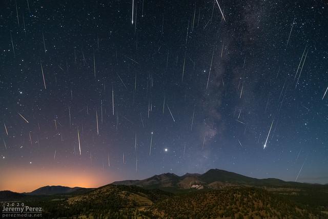 12 August 2020 — North of Flagstaff, Arizona — Perseid Meteor Shower