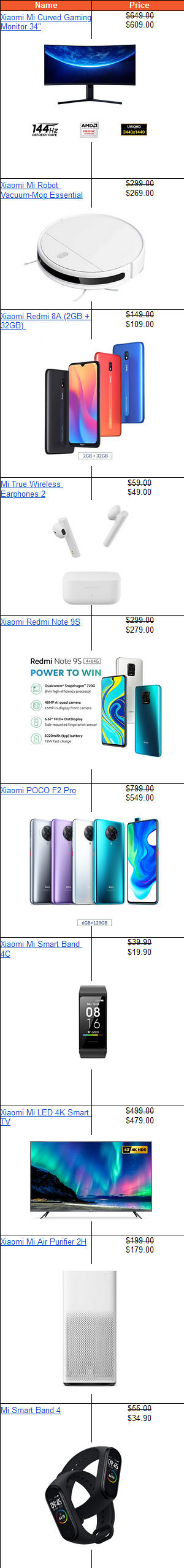 Check out these promotions on Xiaomi's official store in Shopee, especially the flash sale timings (next to the links below to the product listing pages).