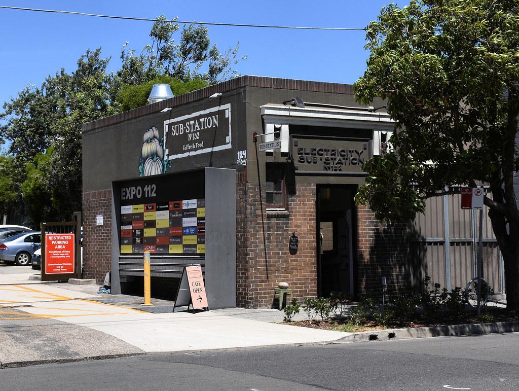 Electricity Sub Station No 152, Alexandria, Sydney, NSW