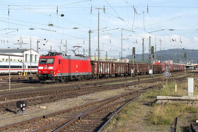 DB Cargo 185 087 Basel Badischer Bahnhof